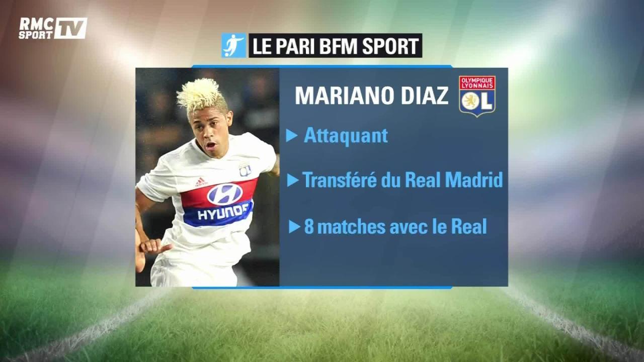 Maillot Olympique Lyonnais Mariano DIAZ