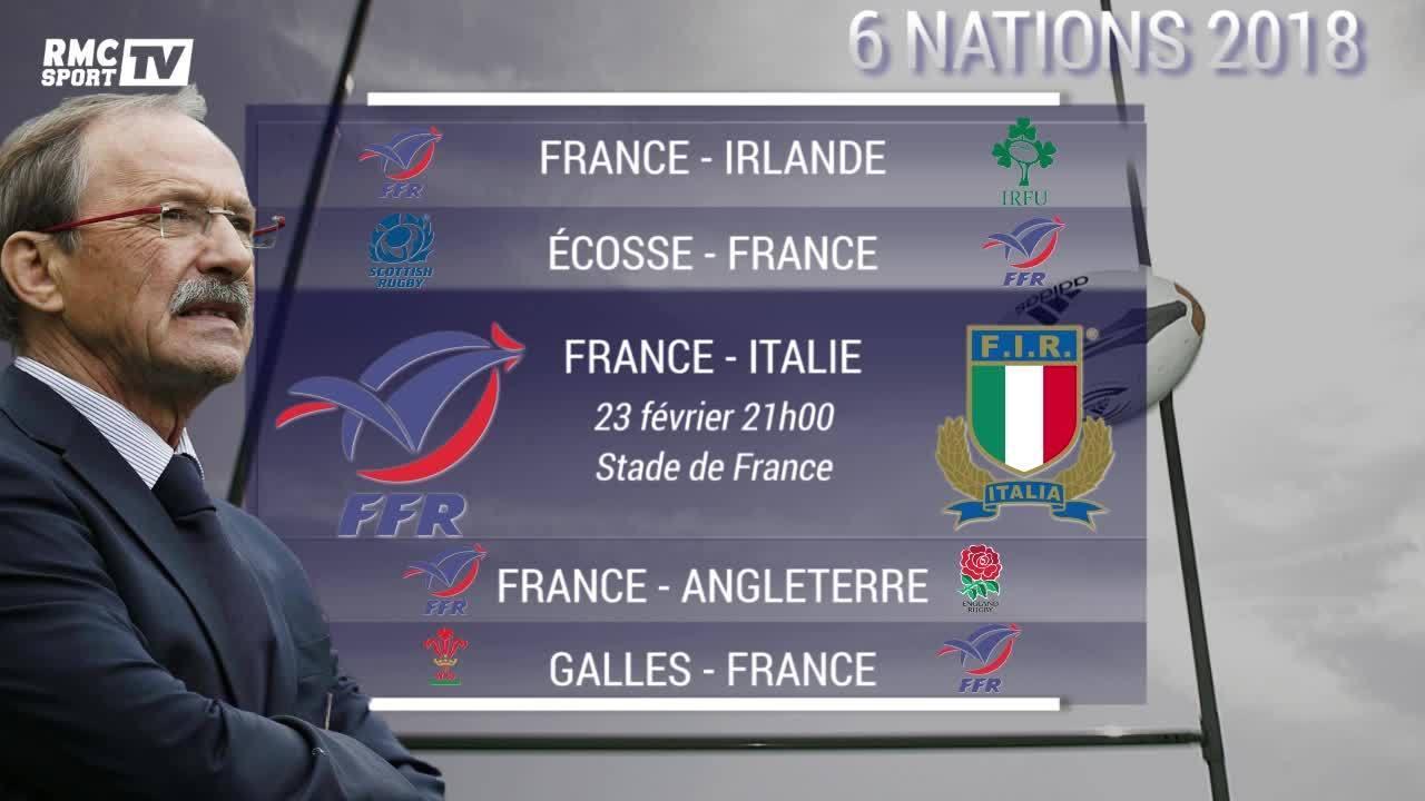 Calendrier Du Tournoi Des 6 Nations.6 Nations 2018 Le Calendrier Du Xv De France